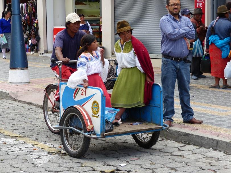 downtown Otavalo