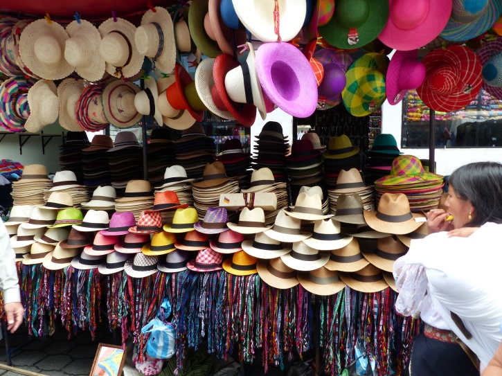 Ecuador, origin of the Panama Hat