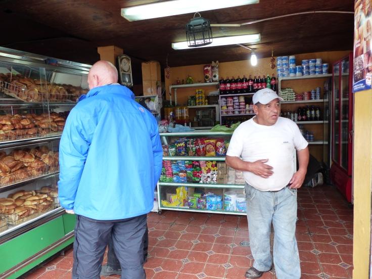 A snack before entering Reserva Ecologic Los llines