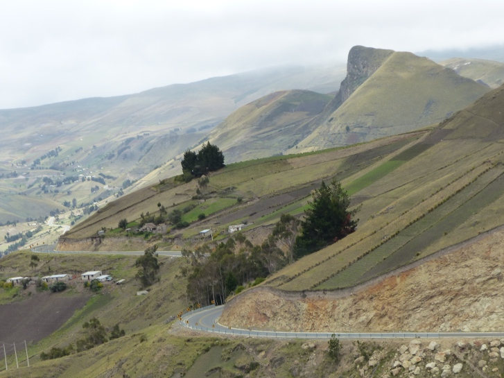 Into the Pass through the Reserva