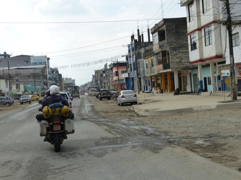 Arriving in Quevedo