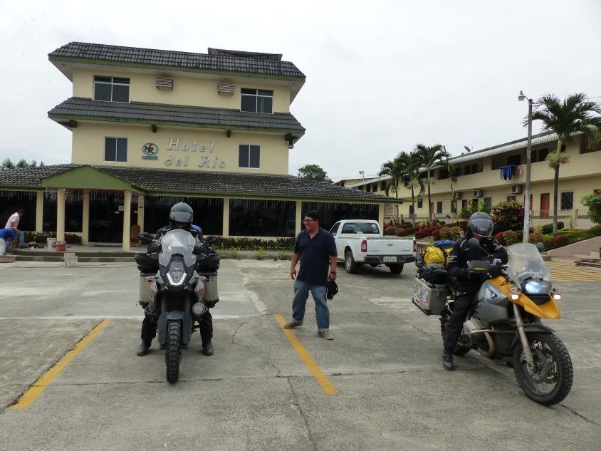 Our hotel in Quevedo