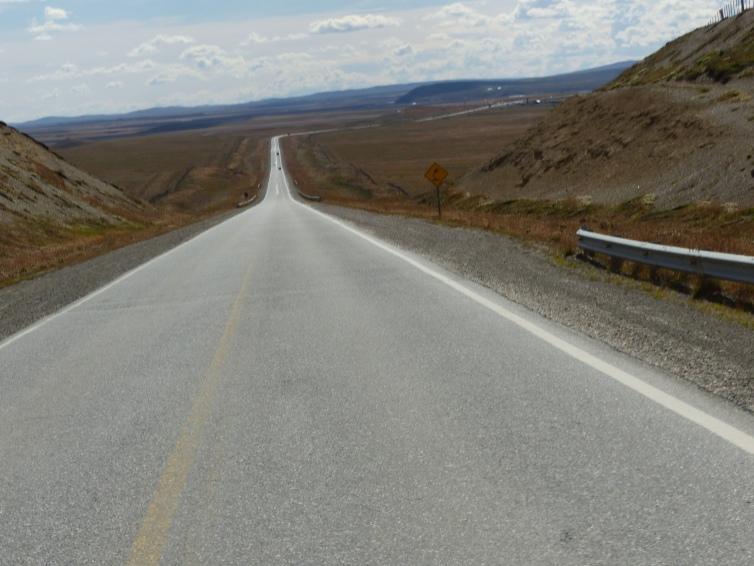 Open road.