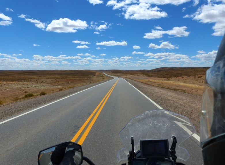 More open road.