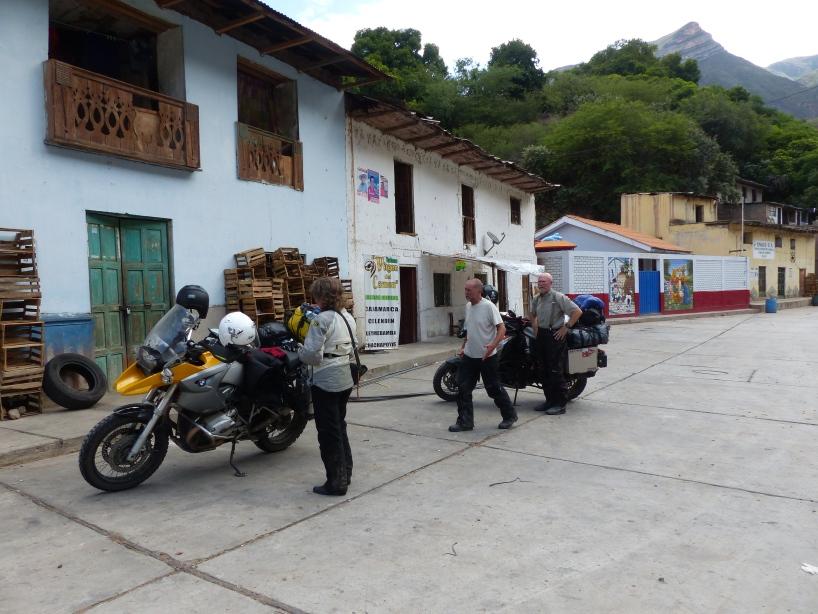 Arriving in Chacanto.