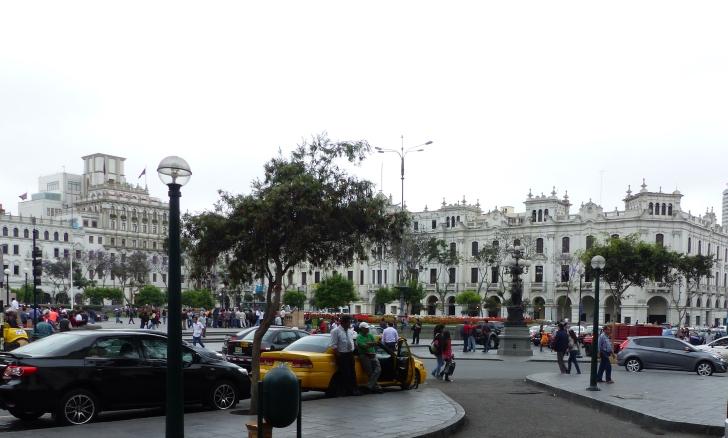 Plaza San Martin.