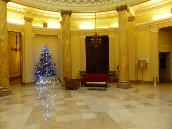 Foyer Gran Bolivar hotel.