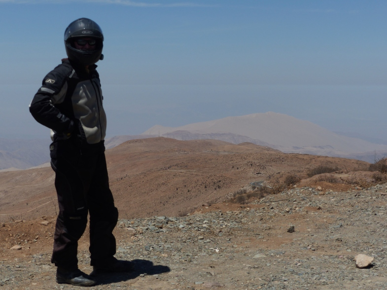 Cerro Blanco, world's highest sand dune in the background.