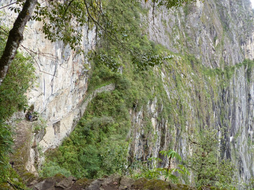 One of the main historic trails into Machu Picchu!