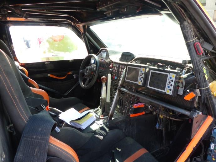 Gordon's cockpit.
