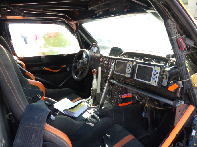 Gordon's cockpit.