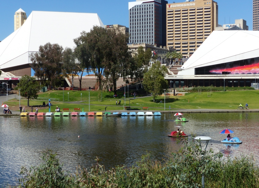 Along the River Torrens.